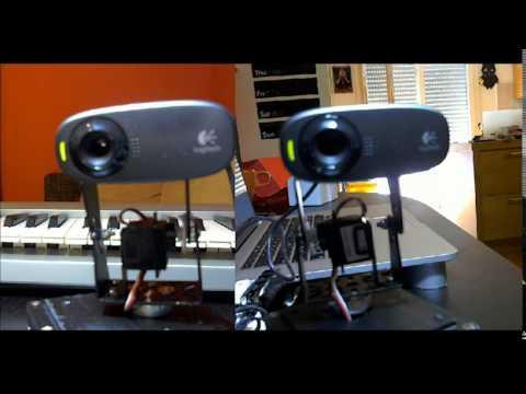 Motorino – motorized webcam controlled via OSC
